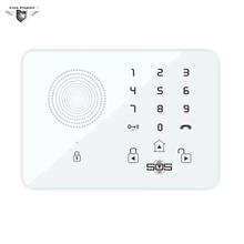 Touch Keypad Wireless Wired GSM Alarm System SOS Help Voice Home Security Burglar Auto Dialing Dialer SMS Call Remote Control K7