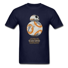 BB-8 T Shirt Men Summer Graphic Tees Adult Latest Plus Size Tshirt BB8 Home Wear Normal Loose Teenage Star Wars Tee Shirts