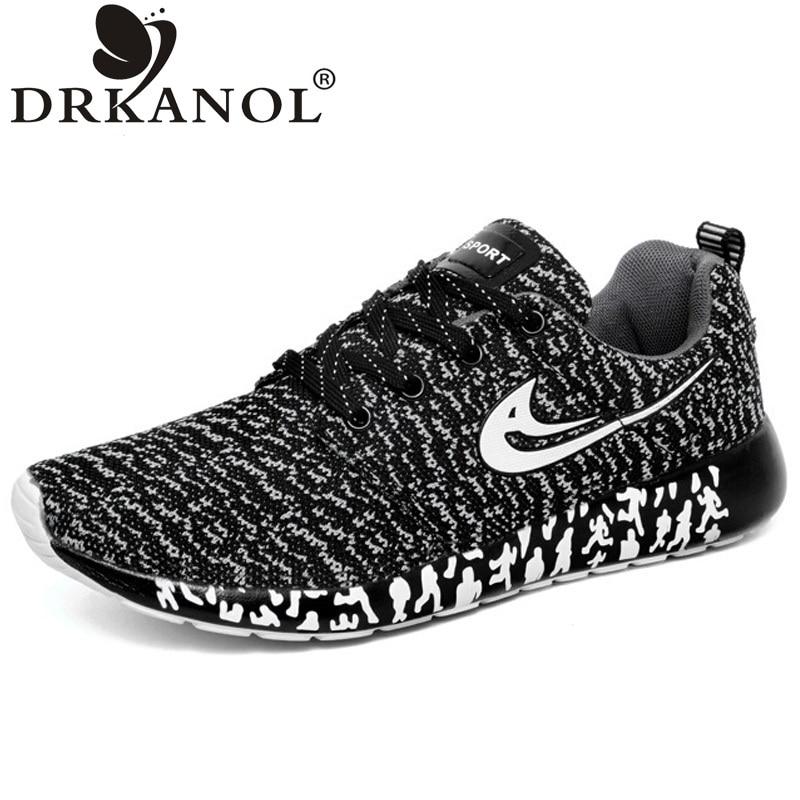 New design men shoes summer lightweight breathable air mesh casual shoes men flat shoes zapatillas zapatillas hombre size 35-44<br><br>Aliexpress
