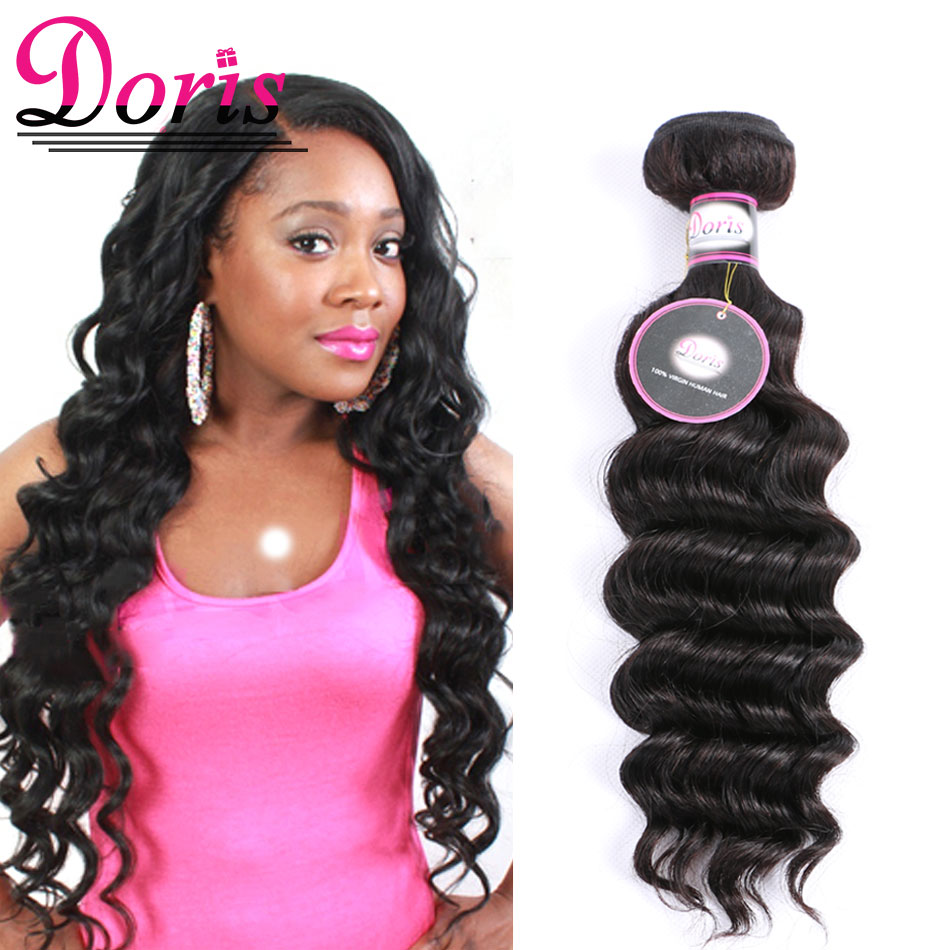 Queen Doris Hair Products Malaysia  Loose Deep Wave 1 Bundles 7A Unprocessed Virgin Human Hair Queen Beauty Hair More Wave Curly<br><br>Aliexpress