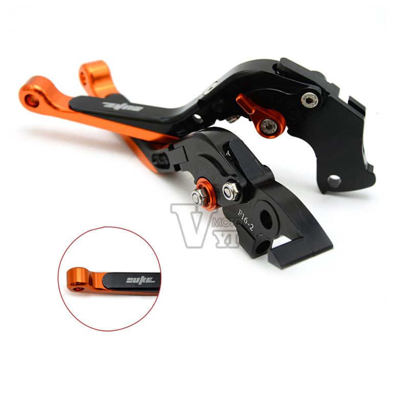 Top Selling Adjustable Motorcycle Brakes Clutch Levers Set Motorbike brake lever for ktm duke 125 duke 390 duke 200 duke 390 990<br><br>Aliexpress