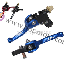 ASV clutch and brake folding lever for dirt bike/pit bike off road motorcycle motocross spare parts(China)