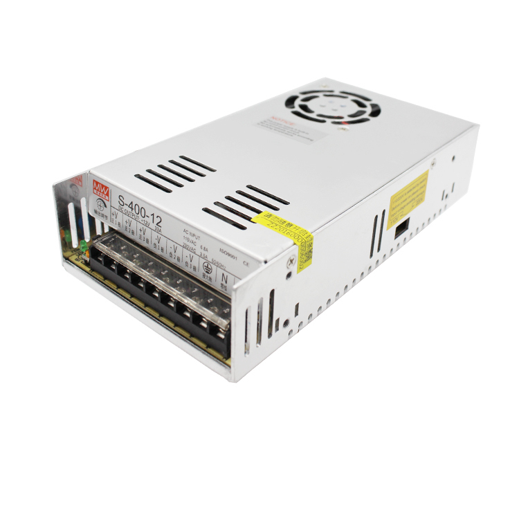 LED Switching Mode Power Supply S-400W-12V33A Monitor Camera AC Change Direct DC Output<br>