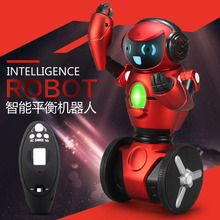 WL-F1 2.4GHz Radio Control Intelligent Balance G-Sensor RC Battle Robot Smart intelligent Dance Robot toy Electronic Walking Toy(China)