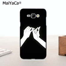 MaiYaCa Original Plastic PC Phone case cover For J1 2015 case Darling You Ll Be Okay best friends bbf(China)