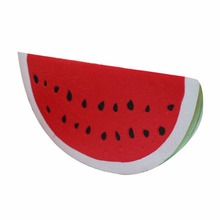 18*9cm Soft Large Squishy Cream Scented Watermelon Slow Rising Relieve Stress Toy Simulation Artificial Toy Key Phone Chain