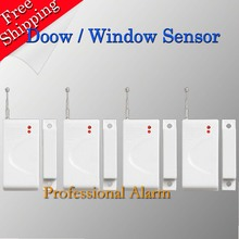 2016 New Selling Free Shipping Wireless Door Window Sensor For GSM Alarm System Cheap Price Popular In The Market