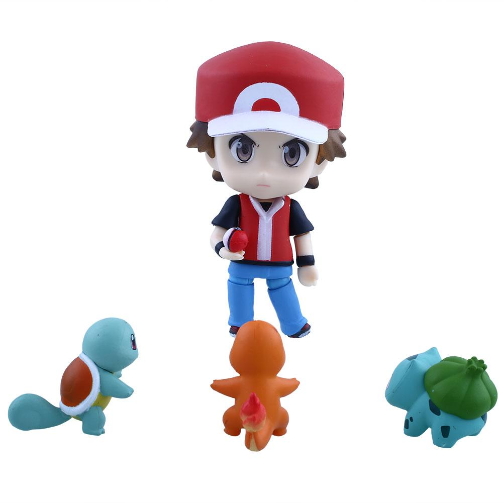 Anime 10cm/4 Nendoroid Cartoon PVC Figure Collection Toy Gift<br><br>Aliexpress