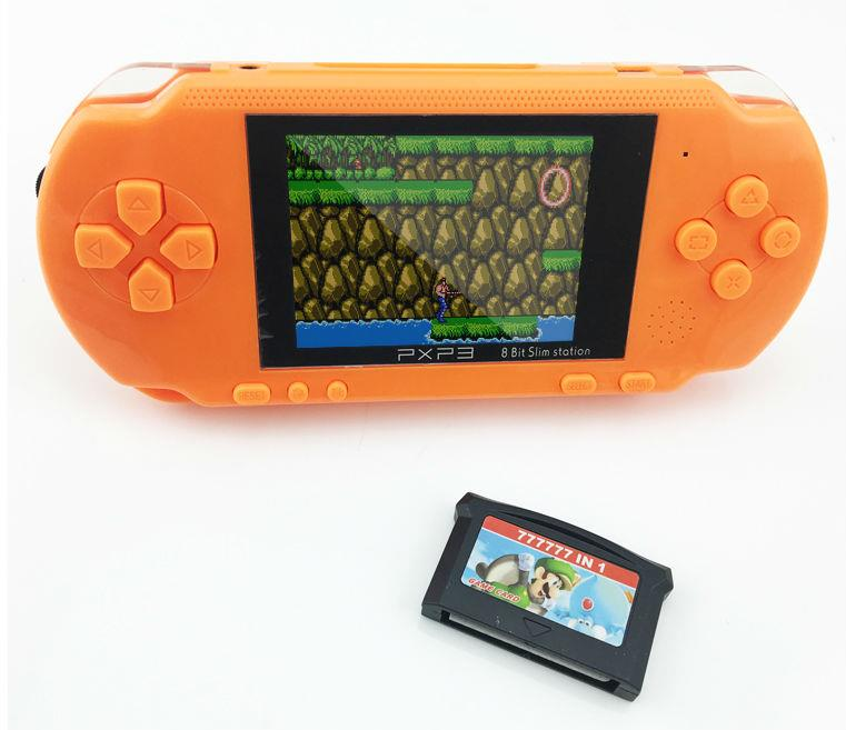 3 Inch PXP3 16 Bit Build  Classic Games Portable Pocket Handheld Gaming System Console AV Output Game Player