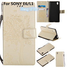 Buy Luxury Wallet PU Leather Anti fall Phone Case SONY Xperia L1 Case Flip Back Cover SONY Xperia L1 phone shell for $3.76 in AliExpress store