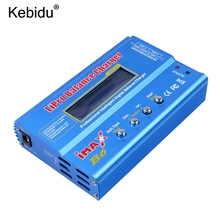 kebidu 100% iMAX B6 Lipro NiMh Li-ion Ni-Cd RC Battery Balance Digital Charger Discharger(China)