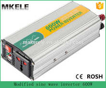 MKM600-241G 600w high efficiency modified sine wave power dc to ac inverter power 600watt 24v to 110/120v electric inverter