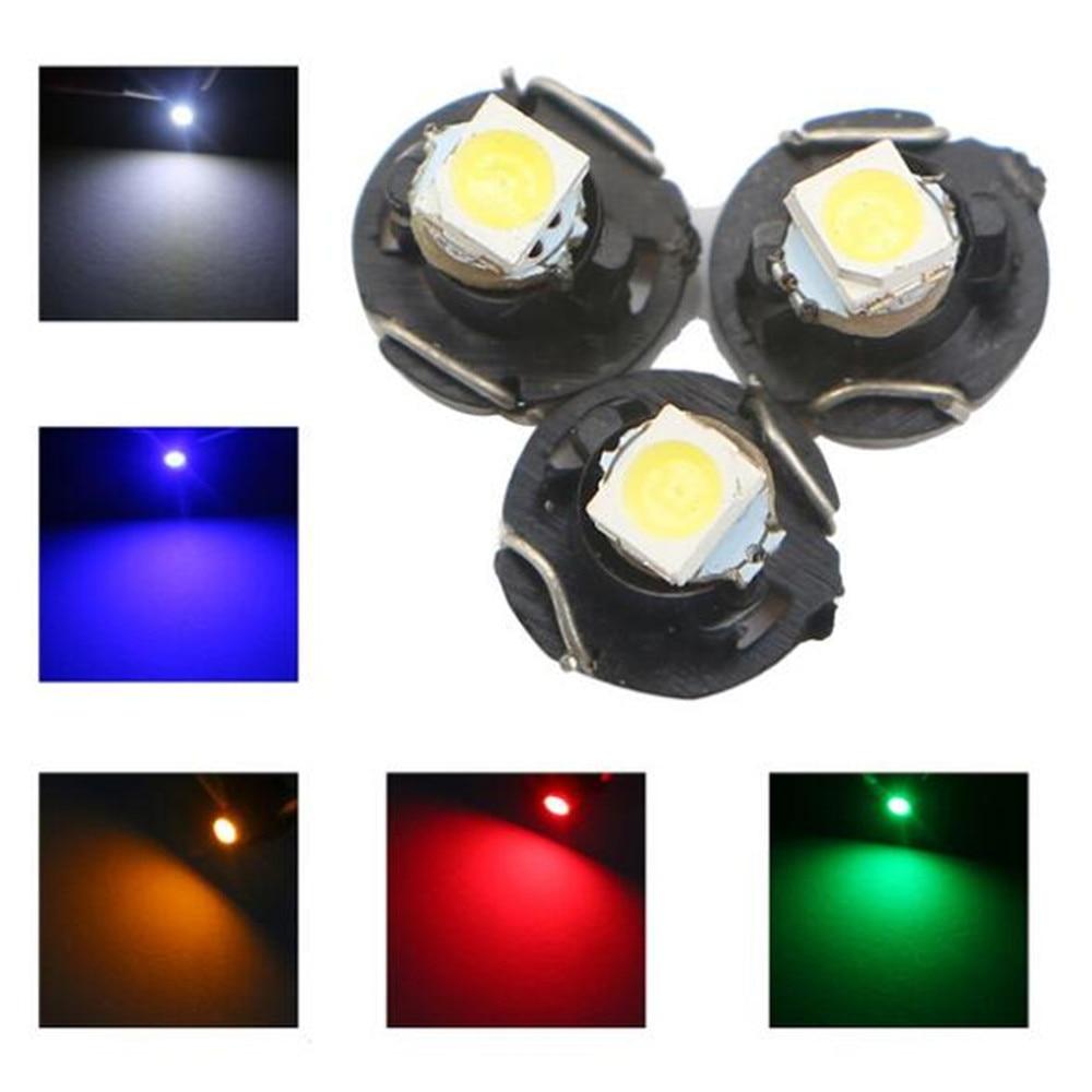 8x Green 8 LED SMD 12v T10 Interior Instrument Panel Gauge Wedge Light Lamp Bulb
