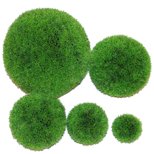 2014 New Item PE Artificial Flower Turf Encryption Snapdragon Hoisted Grass Ball For Home Garden Hall Wedding Decoration(China)