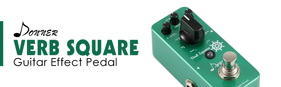 Donner - Verb Square - Guitar Effect Pedal