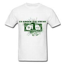 Rob Gronkowski In Gronk We Trust Men's T-Shirt Cool Casual Sleeves Cotton T-Shirt Fashion New Short Sleeve Casual T Shirt Tee(China)