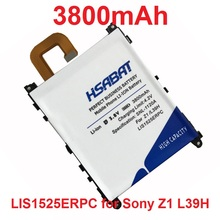 HSABAT 3800mAh LIS1525ERPC Phone Battery Use for SONY Xperia Z1 L39H C6903 L39T L39U C6902 Phone