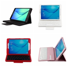 Removable Magnet Wireless Bluetooth Keyboard Leather Stand Protect font b Case b font Cover For For