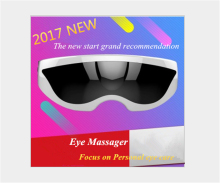 Hot!!Rechargeable Electric Air Pressure Eye Massager Electric Eye Nurse Vibration Magnetic Therapy Massage Device Usb Glasses(China)