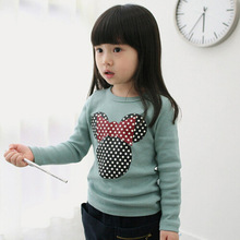 Fashion Baby Kid Long Sleeve Cat Shirt Tops Clothes Girls Blouse T-Shirt