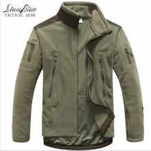 Men Tactical clothing autumn winter fleece army jacket softshell hunt clothing  men softshell military style jackets