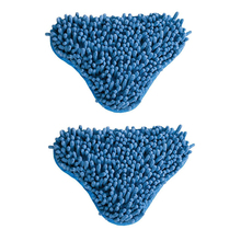 Micro-fiber Mop Head Pad Blue Coral 2 Pads Exclusively Designed For H2O Mop X5