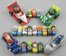 Random 20 Mighty Beanz Beans with 4 MACHINEZ Dune Buggy  IM16