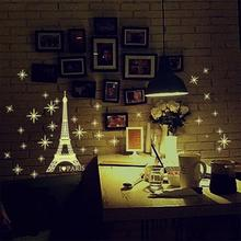 Cute Lovely Sweet House Luminous Wall Sticker Home Decor Glow In The Dark Star Decal Baby Kid Room Decoration