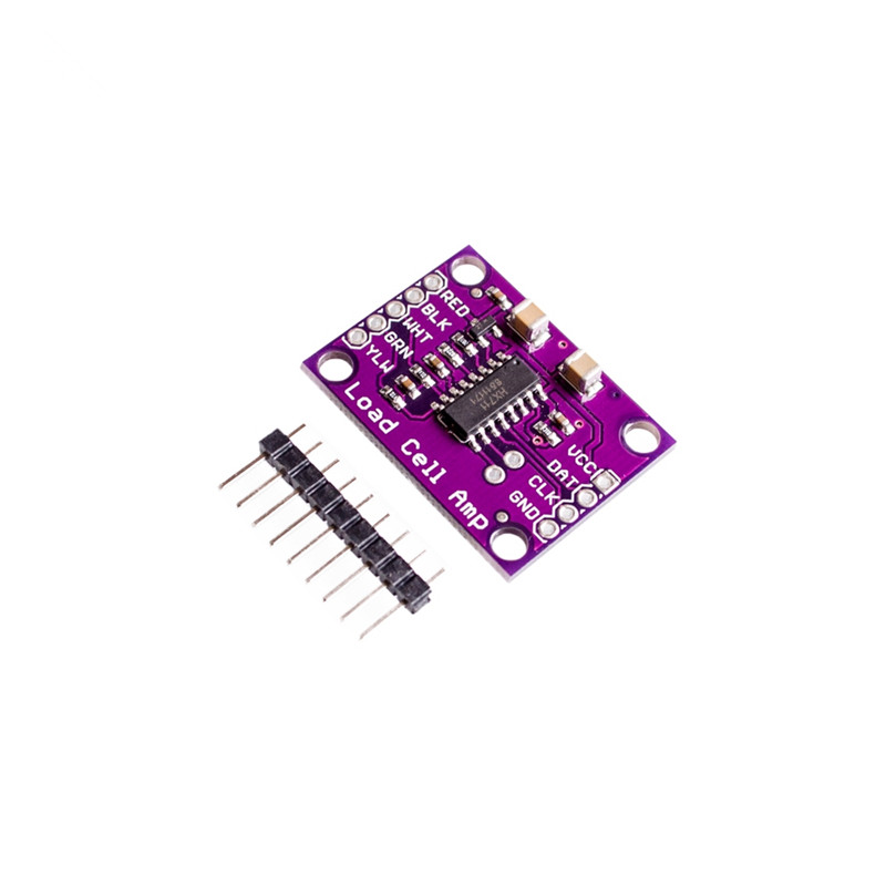 MCU-711 HX711 high precision electronic weighing transducer 24 bit A/D converter development board  For arduino
