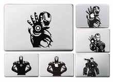 New The Avengers Iron Man Sticker for Macbook Air 11 12 13 Pro 13 15 17 Retina Decal Laptop Skins Versatile Vinyl Pegatinas