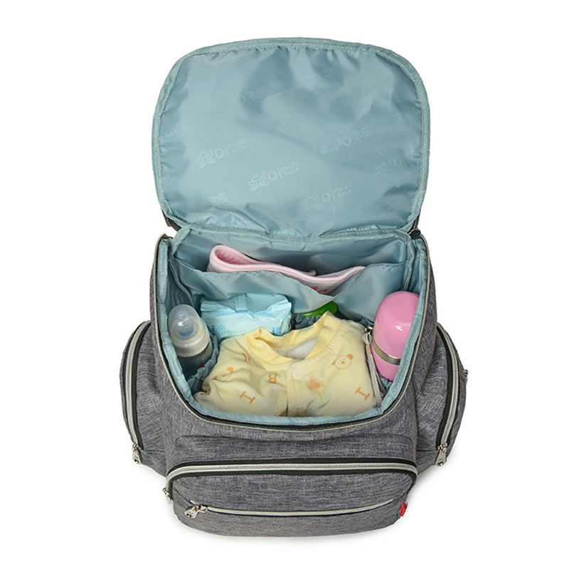 Baby Care Nappy Bag Mummy Multifunction Large Diaper Bag For Stroller Travel Backpack Maternity Baby Outdoor Nappy Handbag B0903<br>