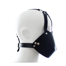 Buy Open Mouth Gag Head Harness Cosplay Fetish Restraint Bondage Adult Game Couples Flirting Sex Products Toys Bondage Gear