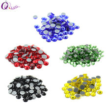 All Colors SS16 (3.8-4.0mm)  Hot fix Rhinestones High Quality DMC Crystal AB Iron On Rhinestones Clothing, bag accessories