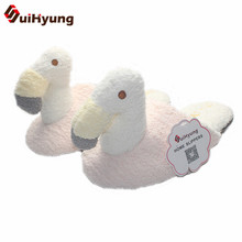 Buy Suihyung Winter New Women's Flamingo Cotton Slippers Plush Warm Home Indoor Slippers Soft Bottom Non-slip Bedroom Floor Shoes for $13.59 in AliExpress store