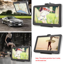 "KKmoon 7"" Portable HD Screen GPS Navigator Video Play MP3 FM Car Entertainment System with Handwriting Pen +Free Map"