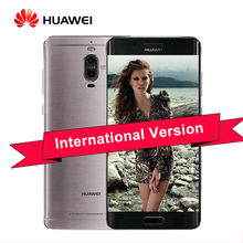 Original Huawei Mate 9 Pro 5.5 inch Android 7.0 Cell Phone 2K Screen Kirin 960 Octa Core 4GB 64GB Dual Rear Camera LTE Infrared