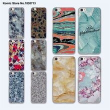 Psychedelic cool Vintage Marbled Stone design hard clear phone Case for Xiaomi mi 5s 5 5sPlus 4 4c 4s redmi note4 note3