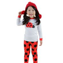 Fashion 2016 Kids Pajamas Cartoon Boy Spiderman Pyjamas Baby Girl Pajamas Set Children Clothing Set