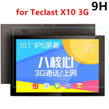 "HD Clear 0.26mm 2.5D Premium Tempered Glass Screen protector for Teclast X10 3G Octa Core 10.1"" Tablet Protective Film"