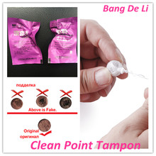100pcs/Lot Clean Point Tampon Womb Women Vaginal Health Care Herbal Tampon Original Tampon Wholesale Feminine Hygiene Produce