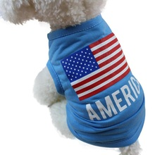 Buy Rush Sale!American Flag Cute Pet Vest Clothing Small Puppy Costume Summer Apparel Ropa De Verano Para Perros Pet Cat Dog Clothes for $1.25 in AliExpress store