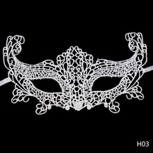 Sexy Elegant Eye Mask Masquerade Ball Carnival Fancy Party Half Face cover Lace Masks for Halloween/Christmas Party dress up(China)