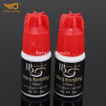 2pcs/lot I Beauty Ultra Bonding Glue for Individual Eyelash Extension 5ml Drying Time 2 to 3 Seconds Free Shipping(China)