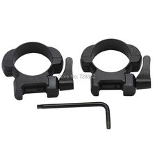 1Pair Quick Release Mount Middle Profile 30mm Scope Ring Steel Picatinny Weaver Rail QD Scope Mount Free Shipping