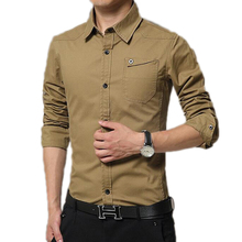 Buy 2017 New Fashion Spring Casual Men Shirt Long Sleeve Slim Fit Shirt Men Business Mens Dress Shirts Men Clothes M-4XL for $22.99 in AliExpress store