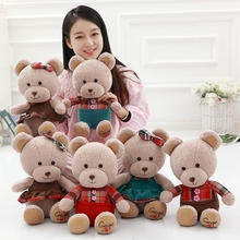 1pcs 13.7inches 35cm Bear doll lovers cuddly teddy bear large bear panda doll pillow a birthday present(China)