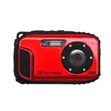 "16.0MP Waterproof Digital Video Camera Sport Underwater Camcorder  DV,2.7"" LCD -Red"