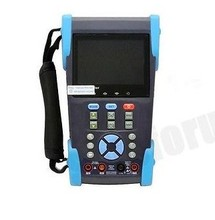 3.5 inch CCTV  camera tester monitor analog CVBS camera IP scan TDR cable tracer digital multimeter  POE PTZ cable