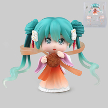 1pcs/set Special offer GSC animation project Q version of Miku Hatsune mid autumn stick model native ornaments gifts