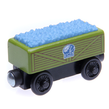 w07 Thomas and Friends Quarry Car Wooden Magnetic Train Models Big Kids Christmas Toys, Gifts for Kids, Friends Free Shipping